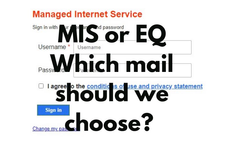 MIS webmail