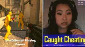 MissQGemini playing games
